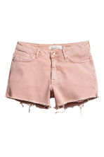 Denim shorts - Powder pink - Ladies | H&M CA 2